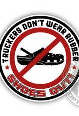 Trucker tragen kein Gummi - Full Print Sticker