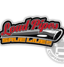 Loud Pipes - Full Print Sticker