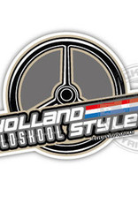 Holland Old Skool Style - Wheel - Full Print Sticker