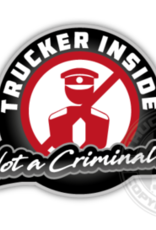 Trucker Inside - Volldruckaufkleber