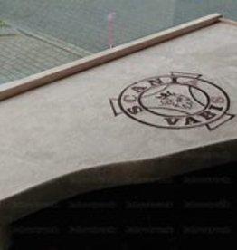 Dashboardtafel bekleed Scania zonder logo