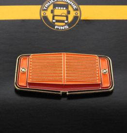 Pin Doppelbrenner Orange