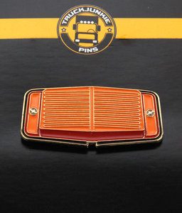 Pin Dubbelbrander Oranje