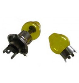 H4 light caps yellow