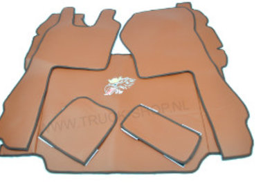 Engine covers and floor mats