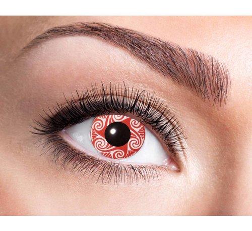 Eyecatcher Red Swirls