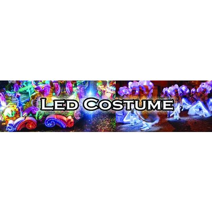 Led pour costumes , decoration