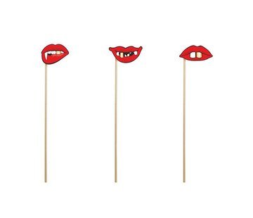 Party Deco Party Prop - Prop Scary Lips ( 3 pieces )