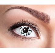Eyecatcher Lentilles Annuelles Léopard Blanc | Lentilles Annuelles blancs et noirs
