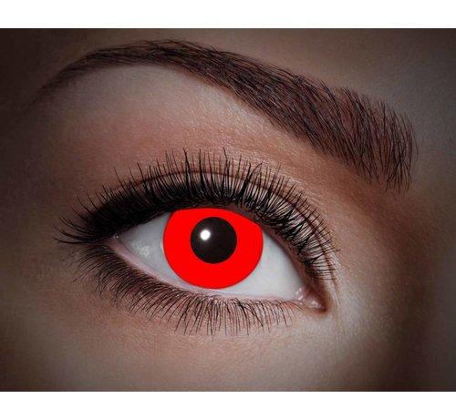 Eyecatcher Color lenses Eyecatcher UV Flash Red