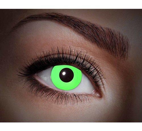 Color lenses Eyecatcher UV Flash Green