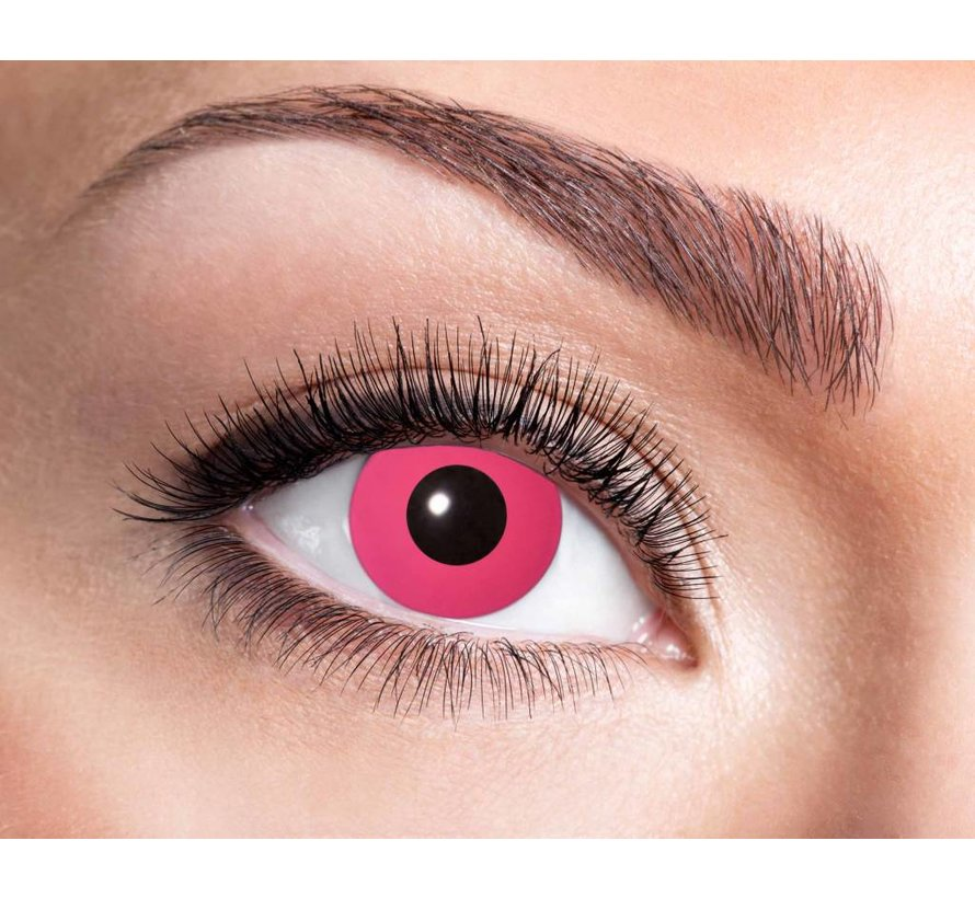 Color lenses Eyecatcher UV Flash Pink