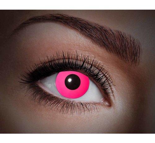 Color lenses Eyecatcher UV Flash Pink