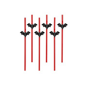 Party Deco Straw Bat ( 6 pieces )