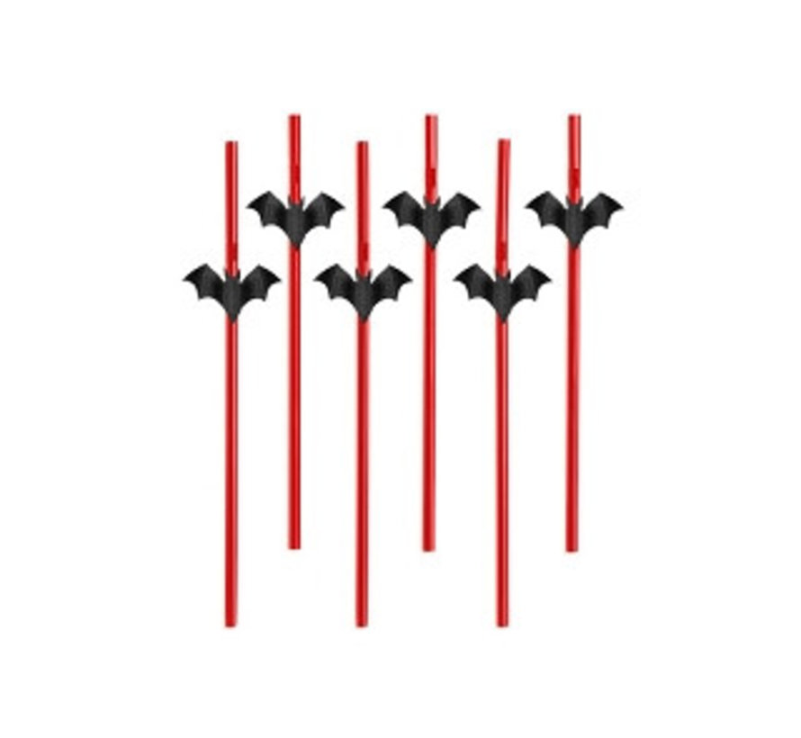 Party Straw - Straw Bat ( 6 pieces )