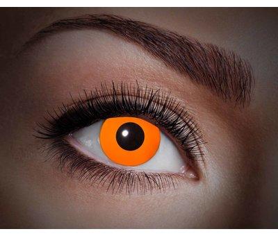 Color lenses Eyecatcher UV Flash Orange
