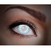 Color lenses Eyecatcher UV White Screen