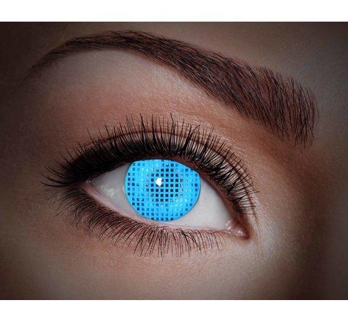 Eyecatcher UV Blue Screen   Annual Lenses