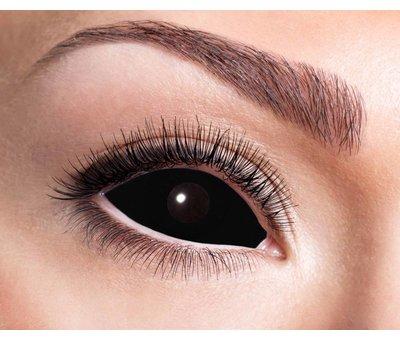 Eyecatcher Black Sclera lenses 22 mm