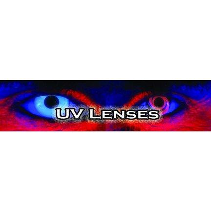 Lentilles UV -Lentilles de couleur pour toutes les partis.