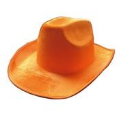 Partyline Hat Cowboy Neon Orange