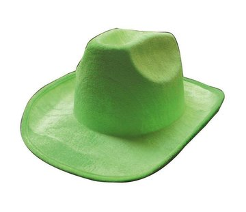 Partyline Cowboy hat neon green