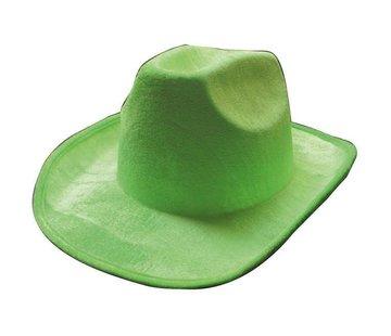 Partyline Cowboyhoed neon groen