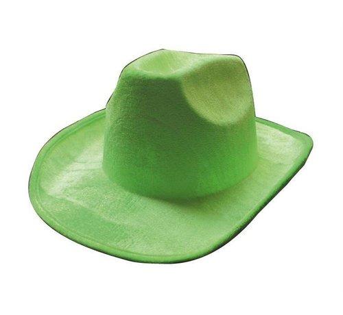 Partyline Chapeau de cowboy vert néon