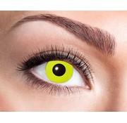 Eyecatcher Yellow Crow Eye | lentilles de 3 mois
