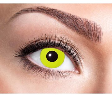 Eyecatcher Yellow Crow Eye | 3 month lenses
