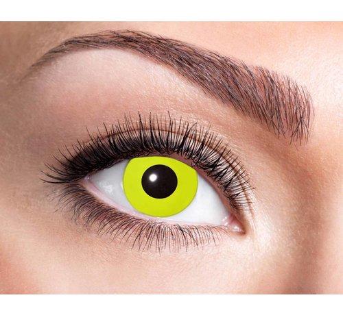 Eyecatcher Yellow Crow Eye   3 month lenses