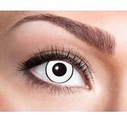 Eyecatcher White Manson | Lentilles de 3 mois