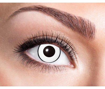 Eyecatcher White Manson   Lentilles de 3 mois