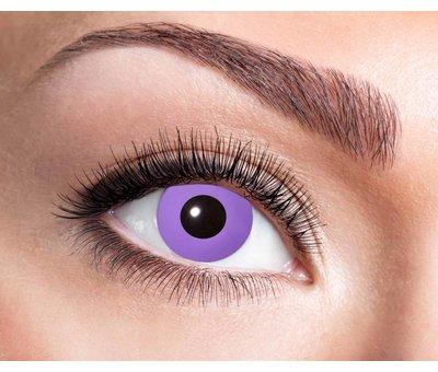 Eyecatcher Purple Gothic 3 month color lenses