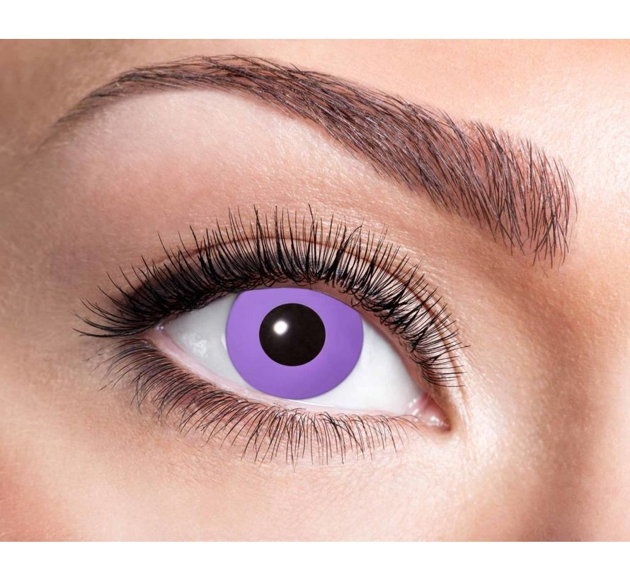Purple Gothic 3 month color lenses