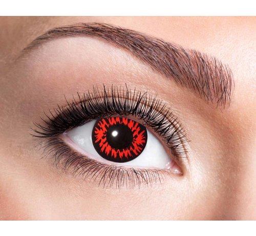 Eyecatcher Red Wolf 3 maand kleurlenzen