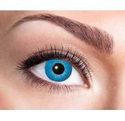 Eyecatcher Electro Blue 3 maand kleurlenzen
