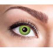 Eyecatcher Electro Green 3 month color lenses