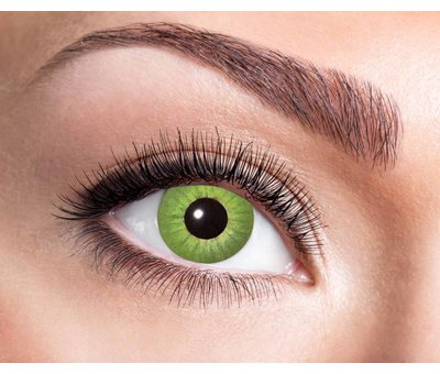 Electro Green 3 mois lentilles