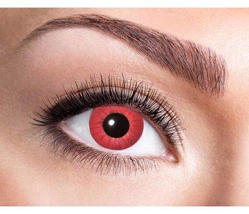 Eyecatcher Electro Red 3 maand kleurlenzen