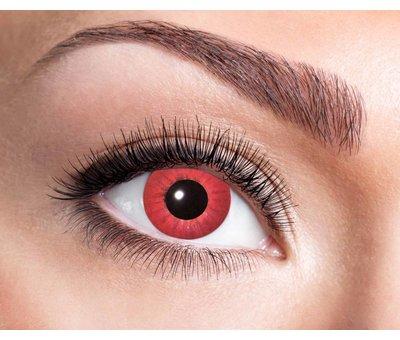 Eyecatcher Electro Red 3 mois lentilles