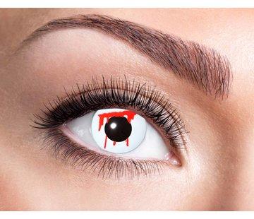 Eyecatcher White Slash 3 month color lenses