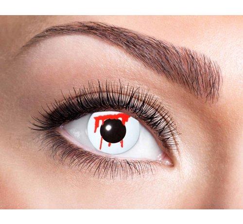 Eyecatcher White Slash Lentilles 3 mois