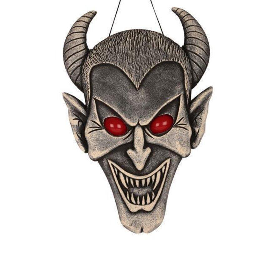 Deco Devil 60cm with light | Halloween decoration