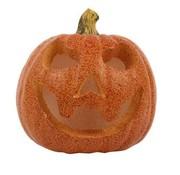 Partyline Led Citrouille 16 cm | Décoration Halloween