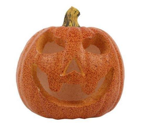 Partyline Led Pompoen 16 cm | Halloween decoratie