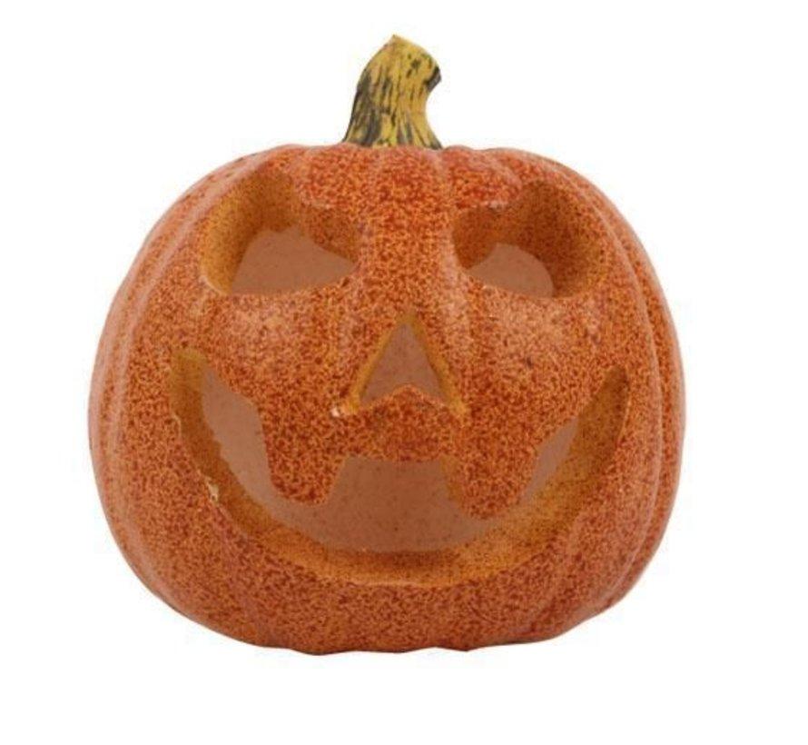 Led Pompoen 16 cm | Halloween decoratie