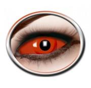 Eyecatcher Full Red Eye lenes 22 mm