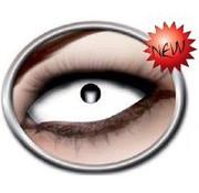 Eyecatcher Blanc Sclera | lentilles 22 mm