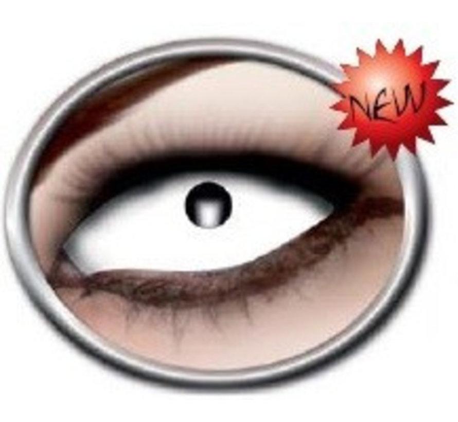 Crazy Fun Lenses- Eyecatcher White